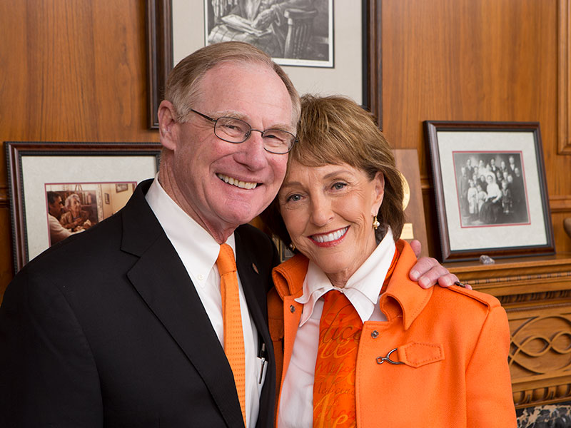 burns and ann hargis in office