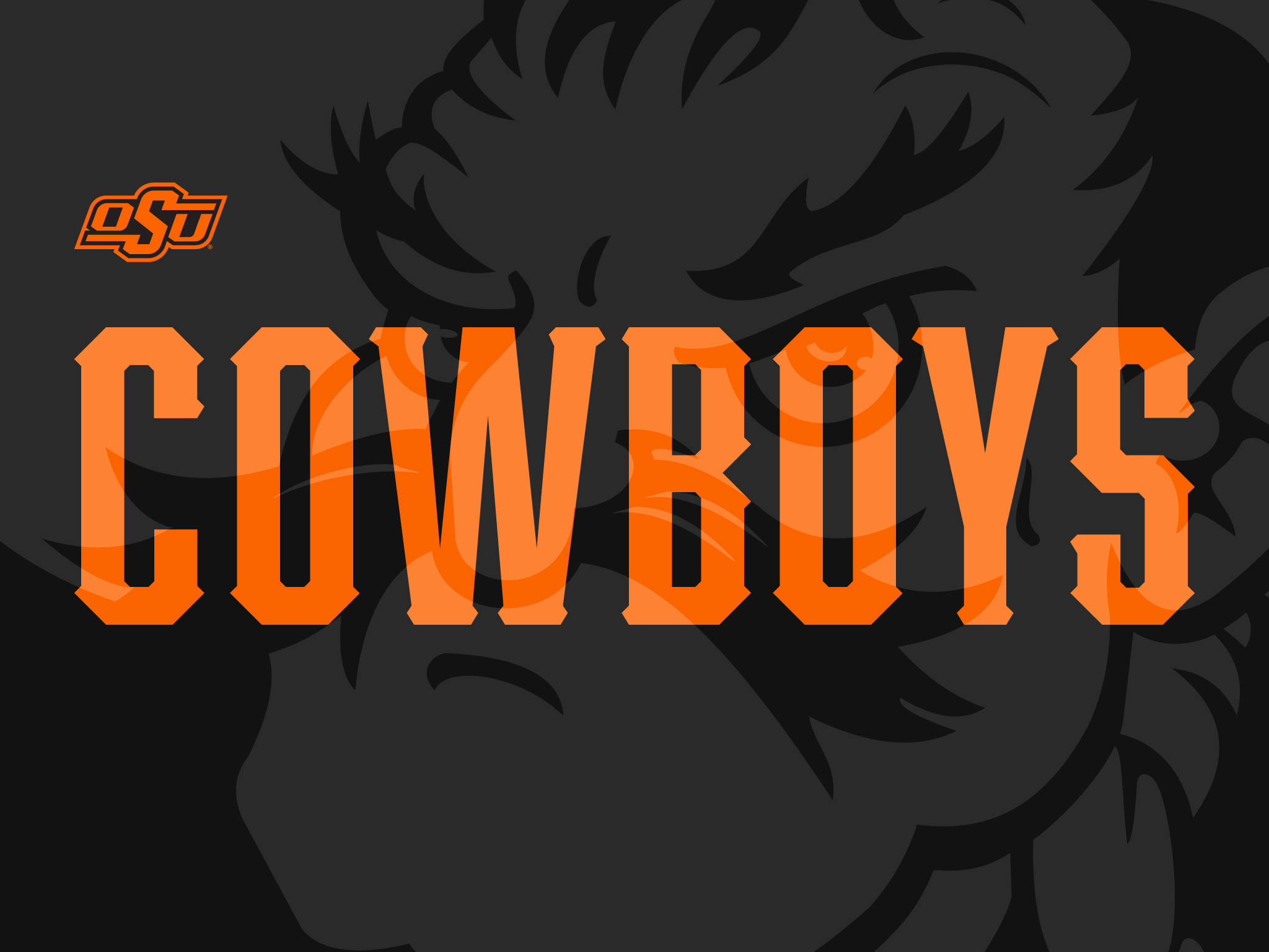 cowboys with black background