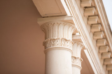 Murray Hall pillars