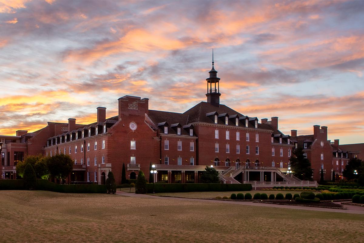 Old Central. Oklahoma State University. Stillwater