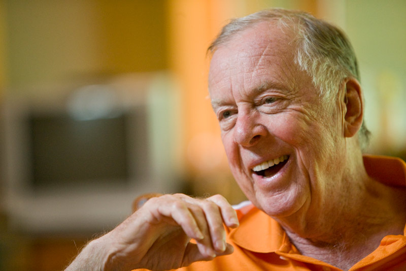 An interview with Boone Pickens