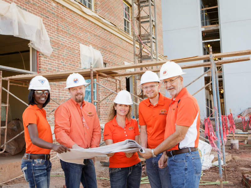 OSU Students in Construction